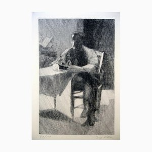 L'Aventure - 1930er - Jacques Villon - Radierung - Moderne 1935
