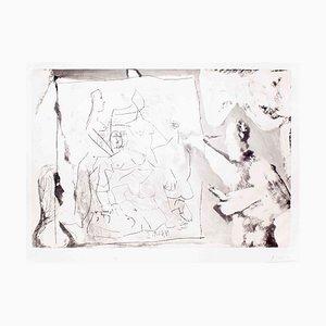 Dans l 'Atelier - 1960er - Pablo Picasso - Aquatinta Moderne 1965