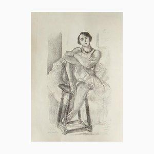 La Danseuse sur un Tabouret - 1920s - Henri Matisse - Lithograph - Modern 1927