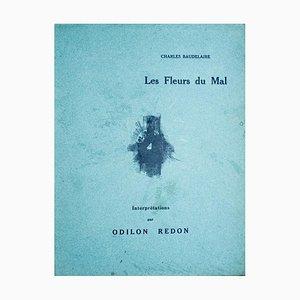 Les Fleurs du Mal, Interprétation par Odilon Redon - 1920er Jahre - Lithografie - Modern 1923