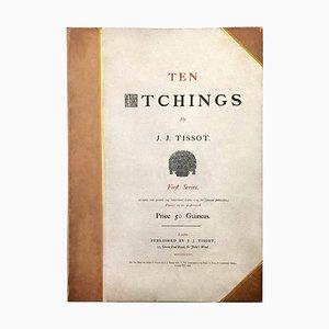 Ten Etchings - 1870s - First Series - James Tissot - Modern 1876