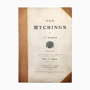 Zehn Radierungen - 1870er - Erste Serie - James Tissot - Modern 1876