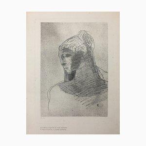 Les Fleurs du Mal - Odilon Redon - Illustration - Modern 1890