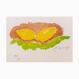 Les Citrons - Georges Braque - Lithograph - Modern 1954