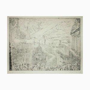 Gravure à l'Eau Forte par James Ensor - 1888 1888