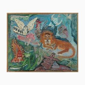 Peinture à l'Huile Untitled - Original par Béatrice Appia