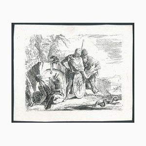 L'Astrologo e il Giovane Soldato 1700-1749