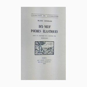 Dix Neuf Poèmes Élastiques 1919