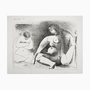 Deux Femmes Accroupies 1956