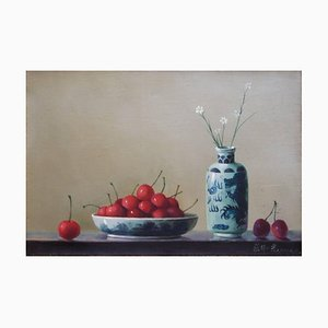 Cherries with pottery 2007
