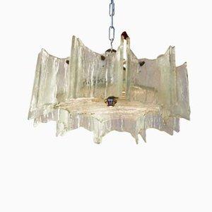 Lámpara de araña de cristal de hielo de J.T. Kalmar