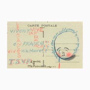 Postcard from Louis Marcoussis to Countess Pecci Blunt, from Gadencourt n.a.