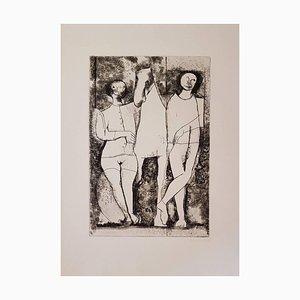 Scenario - Original Etching and Drypoint by Marino Marini - 1968 1968