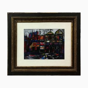 Venice - Original Oil Painting by Nicola Simbari - 1962 1962