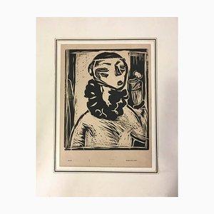 Retrato de mujer 1914