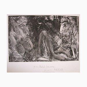 Homme et Femme (Mann und Frau) - Original Radierung von Pablo Picasso - 1968 1968
