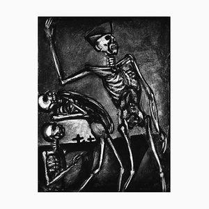 Debout les Morts - Original Etching and Aquatint by G. Rouault - 1948 1948