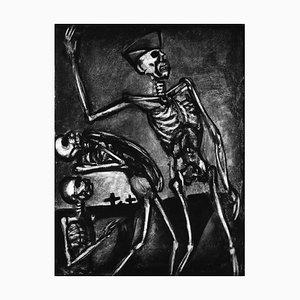 Debout les Morts - Originale Radierung und Aquatinta von G. Rouault - 1948 1948