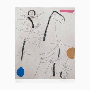 Acquaforte Jugglers - Original di Marino Marini - 1971 1971
