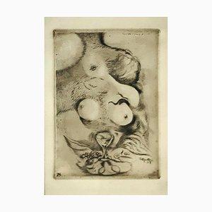 Banchetto d'Amore - Original Radierung von A. Martini - 1917 1917