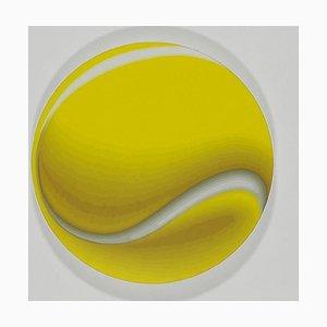 Tennisball - Original Öl auf Leinwand von Giuseppe Restano - 2010 2010