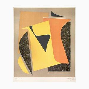 Composición - Serigrafía original de Alberto Magnelli - 1957 1957