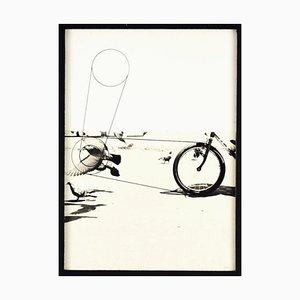 Birds - Original Mixed Media by Pino Settanni - 1970s 1970s
