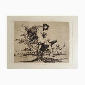 Esto es Peor - Original Etching by Francisco Goya - 1863 1863