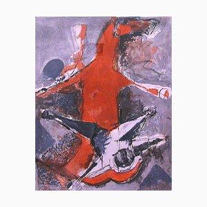 Miracolo (Miracolo) - Original Radierung und Aquatinta von Marino Marini - 1978 1978