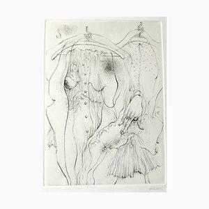 A Sade - Original Etching by H. Bellmer - 1969 1969