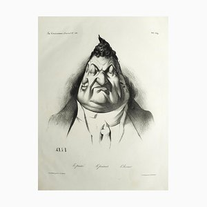 Le Passé, Le Présent, L'Avenir - Lithographie von H. Daumier - 1834 1834