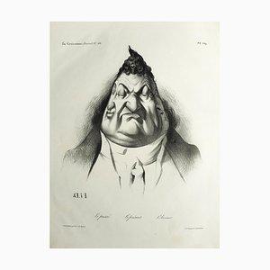 Le Passé, Le Présent, L'Avenir - Lithograph by H. Daumier - 1834 1834