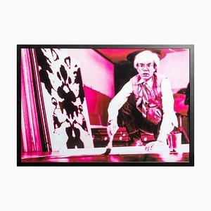 Porträt von Andy Warhol in seiner Studio-Violet Tonung von G. Bruneau - 1980er 1980er