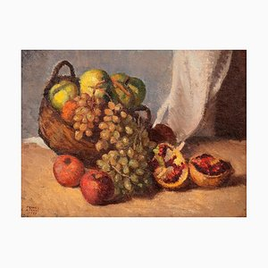 Still Life - Original Oil on Canvas by F. Girosi - 1927 1927