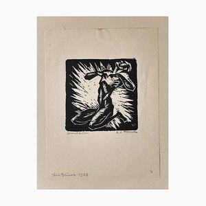 Woodcut sur Papier par Erikma Lawson Frimke - 1937 1937