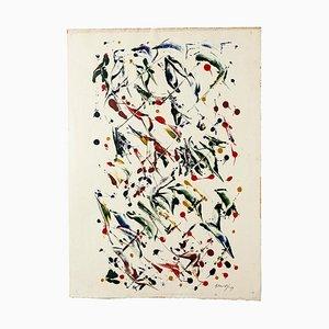 Composition - Original Mixed-Media von Raphael Alberti - 1969 1969