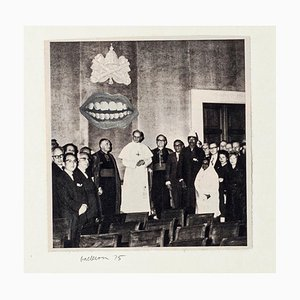 Laughter - Original Collage by Segio Barletta - 1975 1975