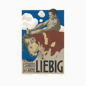 Liebig - Vintage Adv Lithograph by L. Metlicovitz - 1899 1899