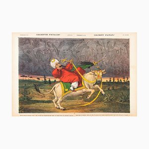 Orient Fatal! - Lithograph by Augusto Grossi - 1870s 1870s