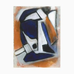 Abstract Post-Cubism - Oil Painting 2015 by Giorgio Lo Fermo 2015