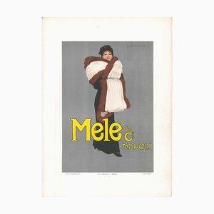 Lithographie Originale par Marcello Dudovich Mele - 1910s 1910