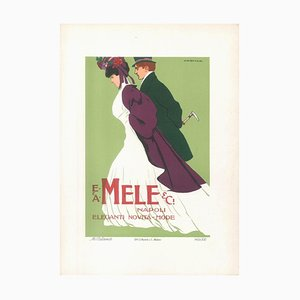 Mele - Original Advertising Lithograph by Marcello Dudovich - 1910s 1910s