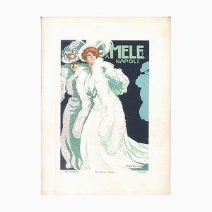 Mele - Original Advertising Lithograph by Marcello Dudovich - 1910s 1910