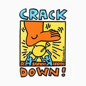 Crack Down!, Serigraph, Contemporary 1986