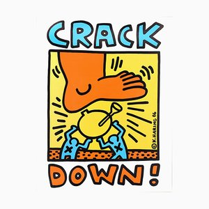 Crack Down !, Serigraphie, Contemporary 1986