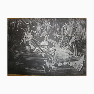 Untitled - Original Lithograph by Mattia Moreni - 1960 1960