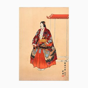 Yokihi - Original Holzschnitt von Tsukioka Kôgyo - 1923 1923