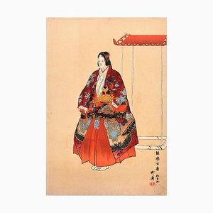 Yokihi - Original Woodcut Print by Tsukioka Kôgyo - 1923 1923