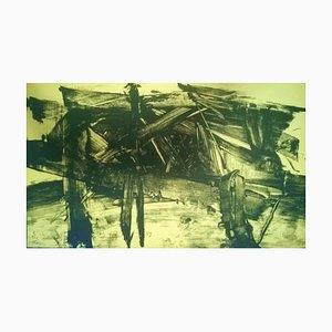 Untitled - Original Lithografie von Mattia Moreni - 1960 1960