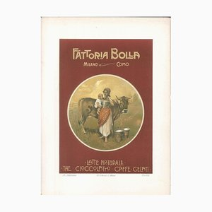 Fattoria Bolla - Vintage Advertising Lithograph by Achille Beltrame - 1910 ca. 1910 ca.